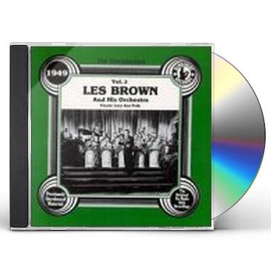 Les Brown 1949 VOL 2 CD