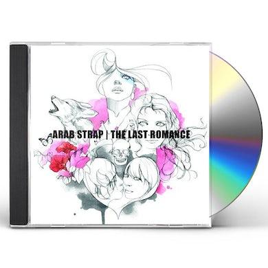 Arab Strap LAST ROMANCE CD