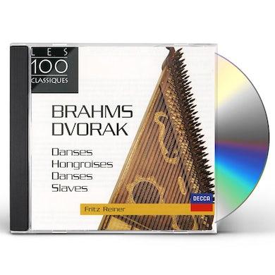 Fritz Reiner BRAHMS-DANSES HONGROISES CD