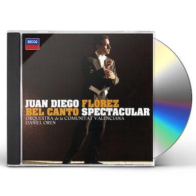 Juan Diego Florez BEL CANTO SPECTACULAR CD