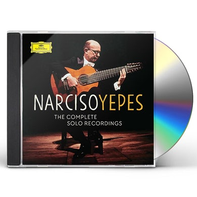 Narciso Yepes YEPES - COMPLETE SOLO RECORDINGS CD