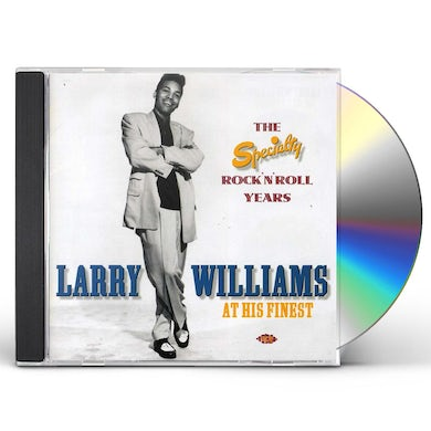 Larry Williams HIS FINEST: THE SPECIALTY ROCK N ROLL CD