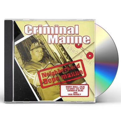 Criminal Manne NEIGHBORHOOD DOPE MANNE CD