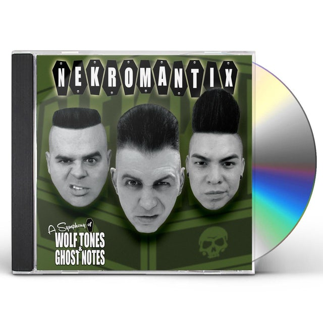 Nekromantix SYMPHONY OF WOLF TONES & GHOST NOTES CD