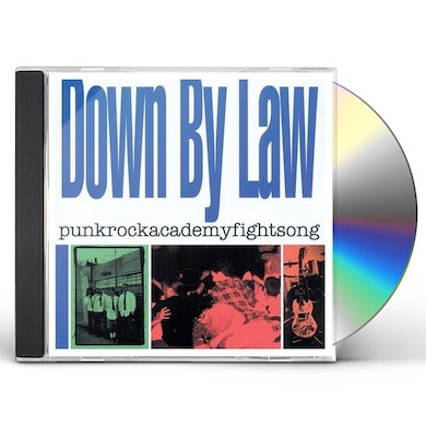 Down By Law PUNKROCKACADEMYFIGHTSONG CD