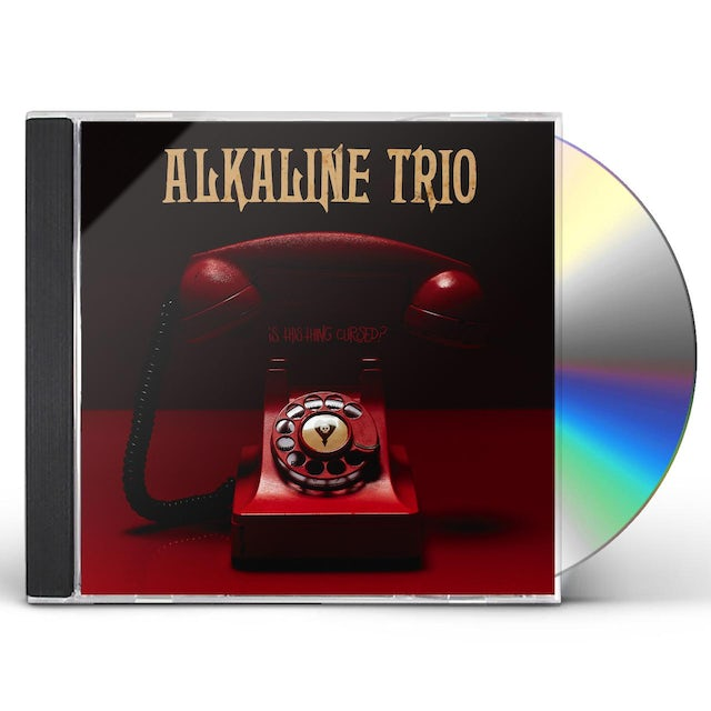 Alkaline Trio IS THIS THING CURSED CD