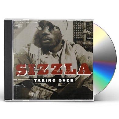 Sizzla TAKING OVER CD