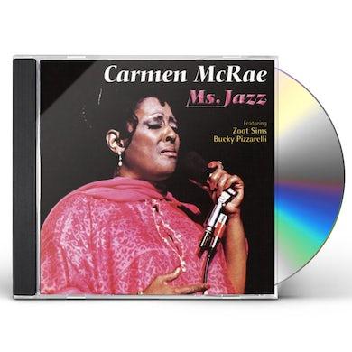 Carmen McRae MS JAZZ CD