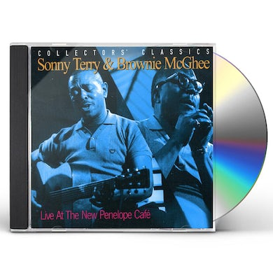 Sonny Terry / Brownie McGhee  LIVE AT NEW PENELOPE CAFE CD