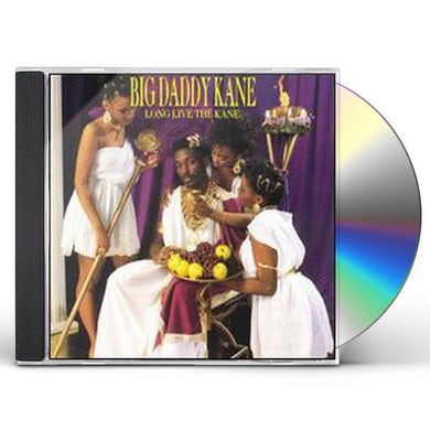 Big Daddy Kane LONG LIVE THE KANE CD