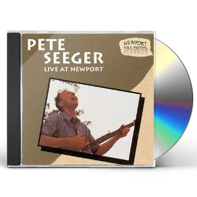 Pete Seeger LIVE AT NEWPORT CD