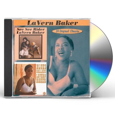 Lavern Baker SEE SEE RIDER / BLUES BALLADS CD