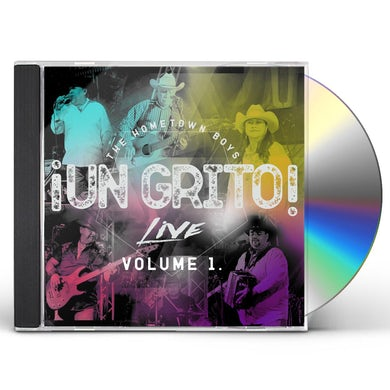 Hometown Boys UN GRITO! LIVE VOL. 1 CD