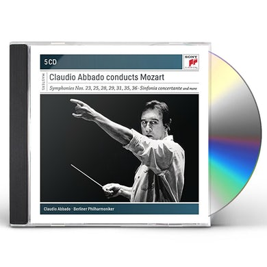 CLAUDIO ABBADO CONDUCTS Wolfgang Amadeus Mozart CD