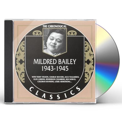 Mildred Bailey 1943-1945 CD