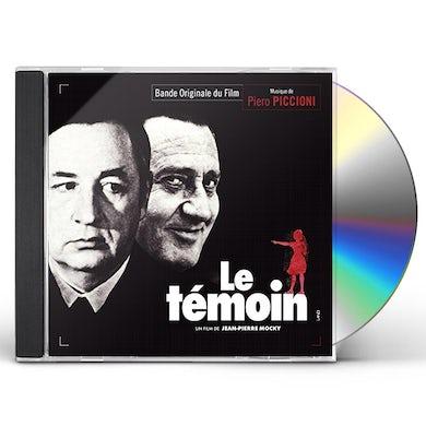 Piero Piccioni LE TEMOIN CD