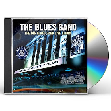 BIG BLUES BAND LIVE ALBUM CD