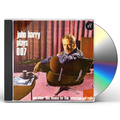 JOHN BARRY PLAYS 007 & OTHER 60S THEMES FOR FILM CD