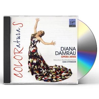Diana Damrau COLORATURAS CD