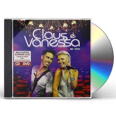 Claus & Vanessa AO VIVO CD