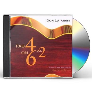 Don Latarski FAB 4 ON 6 2 CD