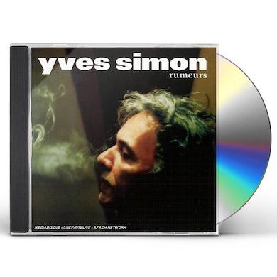 Yves Simon RUMEURS CD