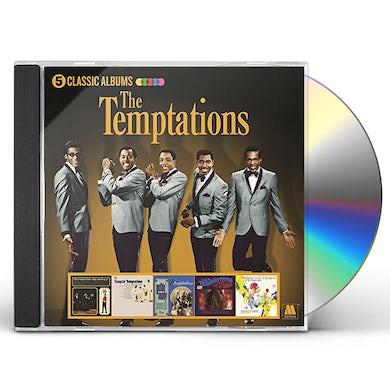 The Temptations 5 CLASSIC ALBUMS CD