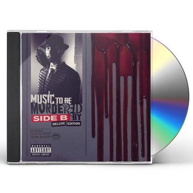 Eminem MUSIC TO BE MURDERED BY - SIDE B CD