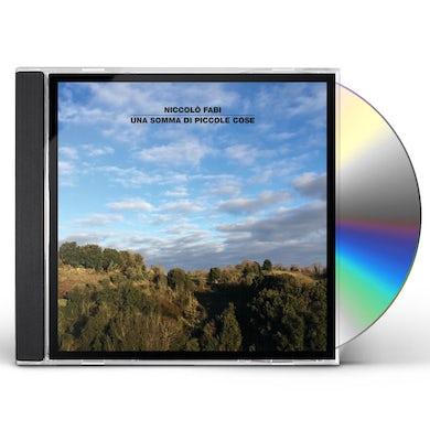 Niccolo Fabi UNA SOMMA DI PICCOLE COSE CD