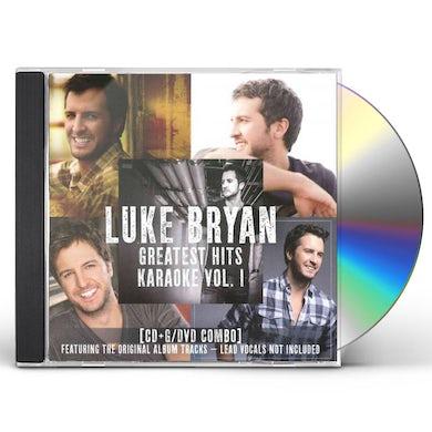 Luke Bryan GREATEST HITS KARAOKE 1 CD