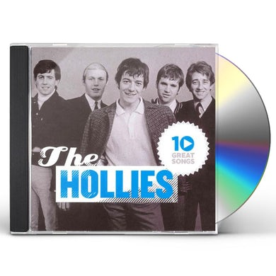 The Hollies 10 GREAT SONGS CD