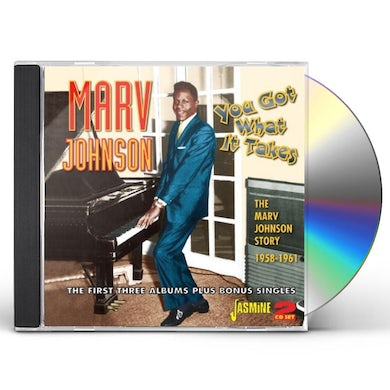 YOU GOT WHAT IT TAKES:MARV JOHNSON STORY 1958-61 CD