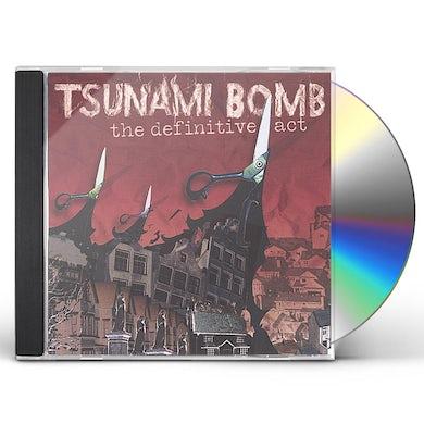 Tsunami Bomb DEFINITIVE ACT CD
