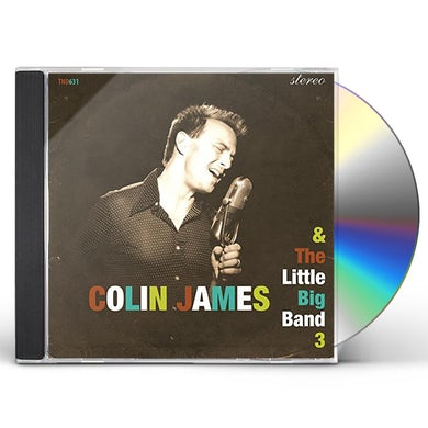 Colin James LITTLE BIG BAND 3 CD
