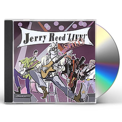Jerry Reed LIVE STILL CD