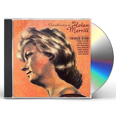 Helen Merrill ARTISTRY OF CD