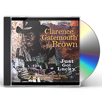 Clarence Gatemouth Brown JUST GOT LUCKY CD