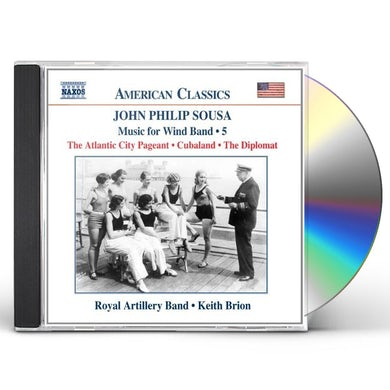 John Philip Sousa MUSIC FOR WIND BAND 5 CD