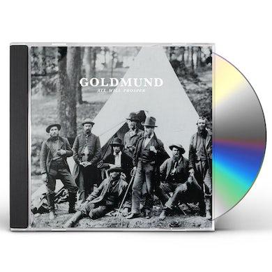 Goldmund ALL WILL PROSPER CD