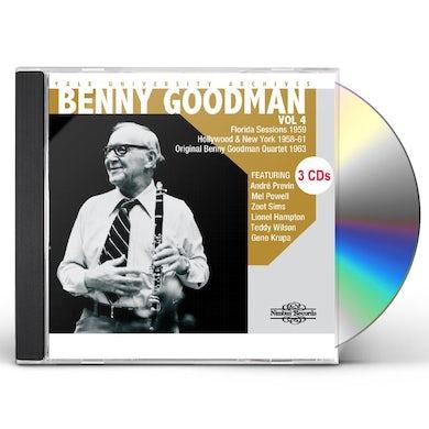 Benny Goodman YALE UNIVERSITY ARCHIVES 4 CD
