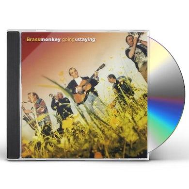 Brass Monkey GOING & STAYING CD