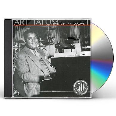 1934-44 ART TATUM LIVE 1 CD