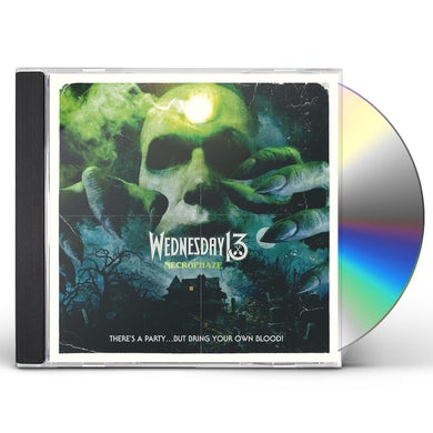Wednesday 13 NECROPHAZE CD