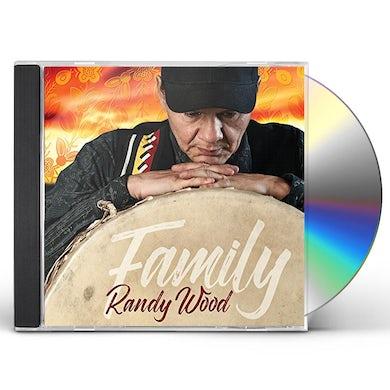 Randy Wood FAMILY CD