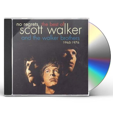Scott Walker NO REGRETS: BEST OF CD