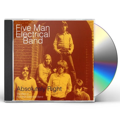 Five Man Electrical Band ABSOLUTELY RIGHT CD
