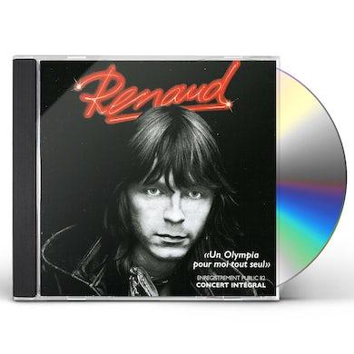 Renaud UN OLYMPIA POUR MOI TOUT SEUL CD