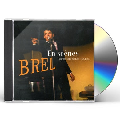 Jacques Brel ENREGISTREMENT INEDITS CD