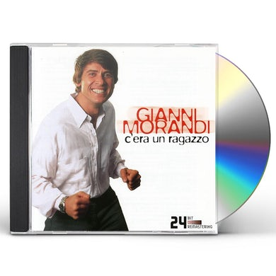 Gianni Morandi G'ERA UN RAGAZZO / BEST OF CD