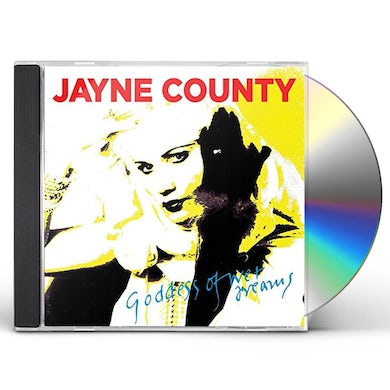 Jayne County GODDESS OF WET DREAMS CD